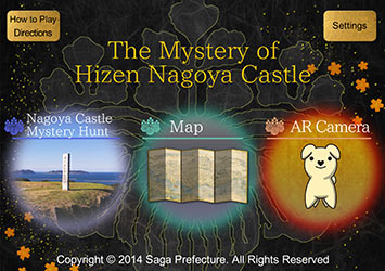 'The Mystery of Hizen Nagoya Castle' app